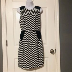 Black and white dress from H and M